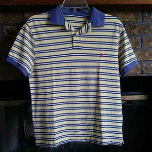 Ralph lauren striped short sleeved sport shirt